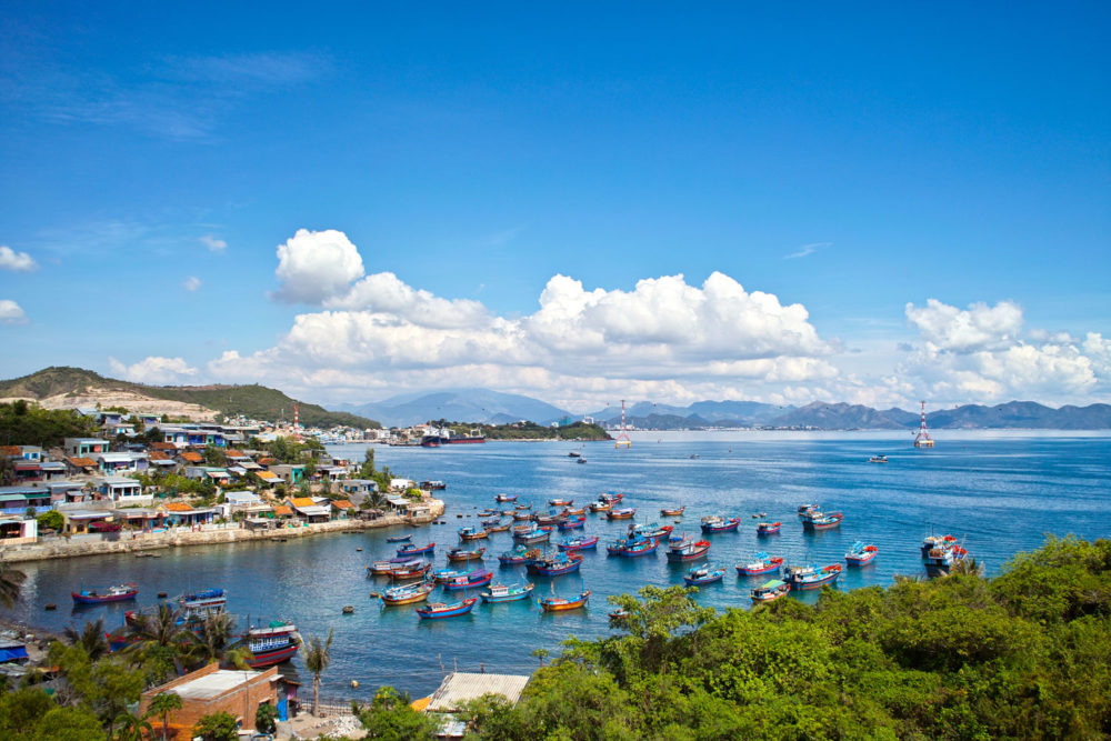 Nha Trang wears the title of Vietnam's hustling, bustling beach capital.