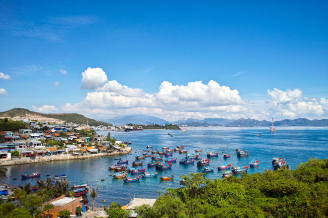 Nha Trang wears the title of Vietnam's hustling, bustling beach capital.