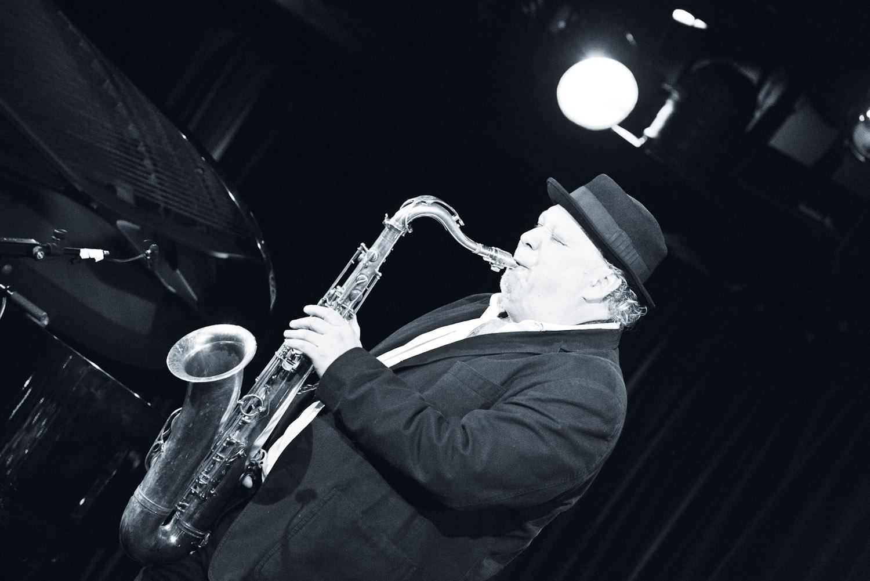 Inside Tokyo's B Flat Jazz Club