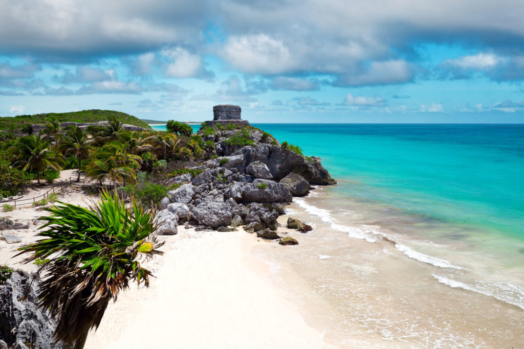 Tulum beach, Mexico.