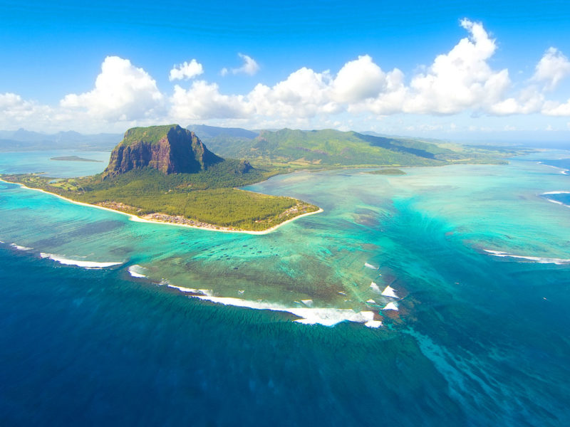 Mauritius, off the south-east coast of Africa.