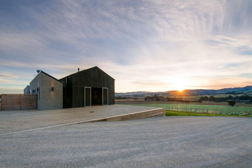 Black Estate near Christchurch, NZ.