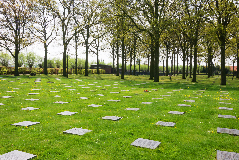 WWI cemetery in Ypres, Belgium.