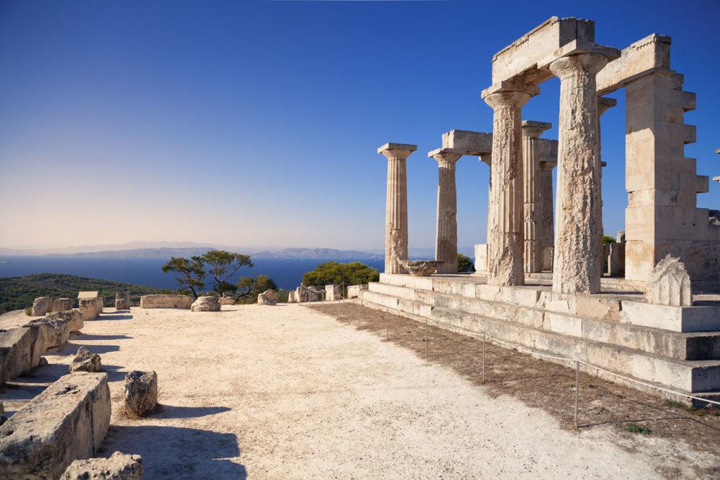 Aegina island, Greece.