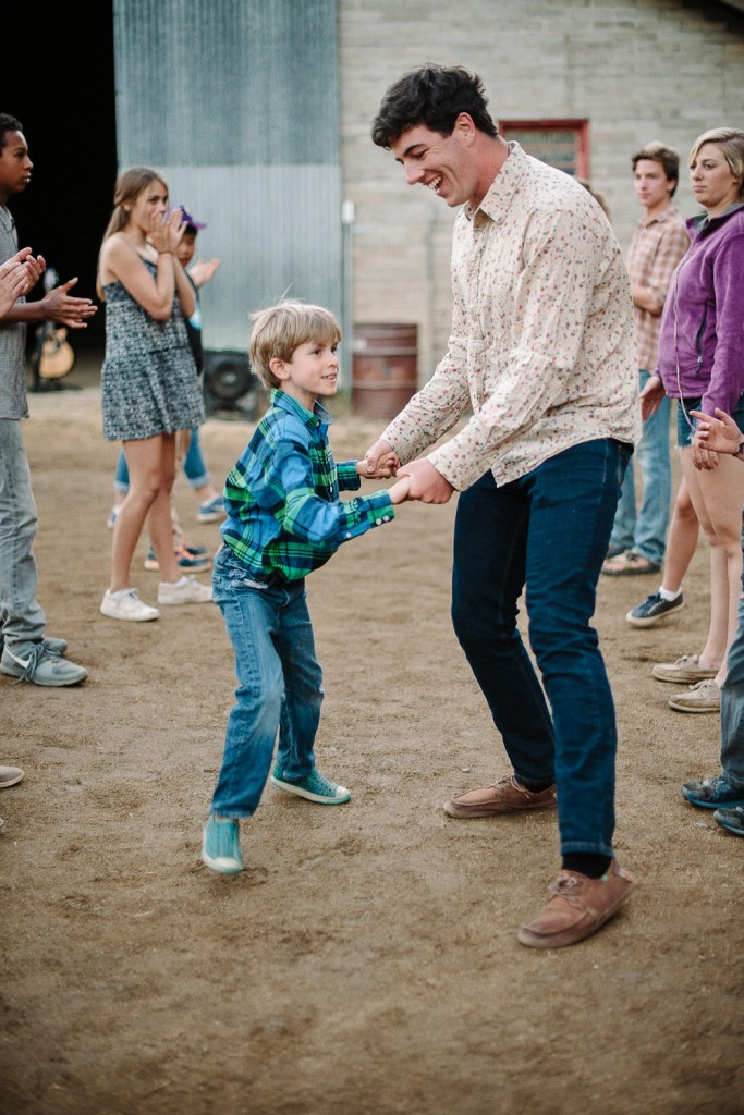 Line dancing is just part of the myriad daily activities at this Californian summer camp.