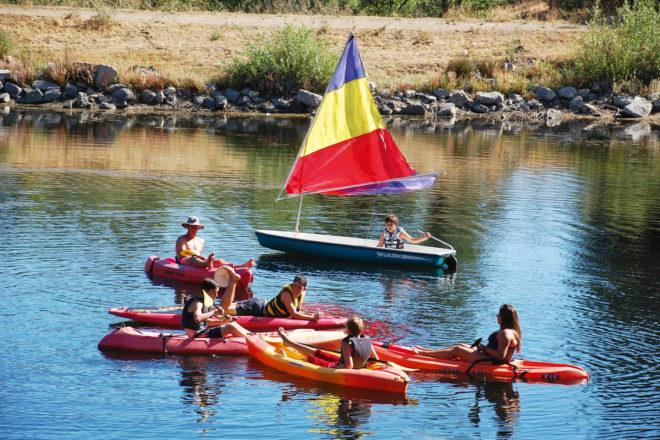 Jameson Ranch Camp in California, USA.