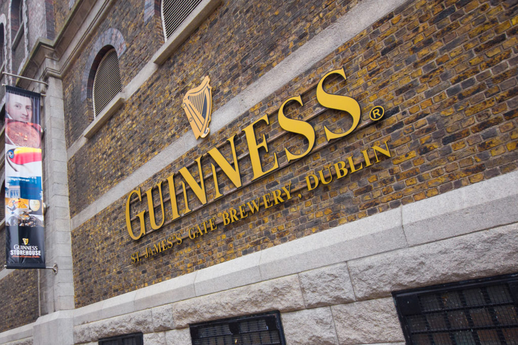 The Guinness Storehouse, Dublin.