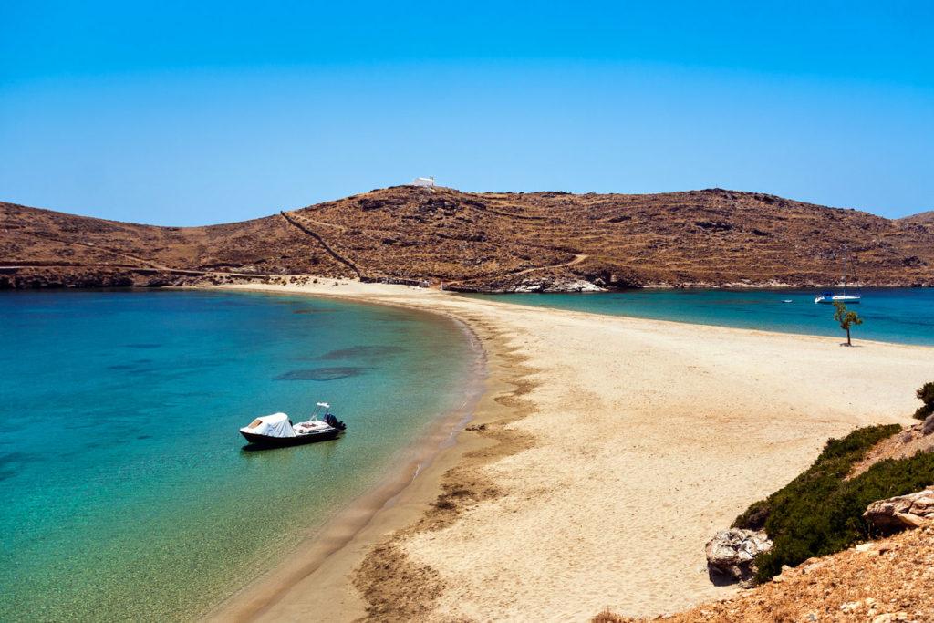 Kithnos island, Greece.