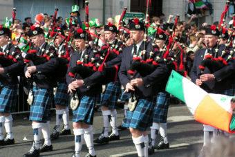 St Patrick's Day Festival Parade, Dublin.