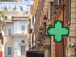 Pharmacy in Rome