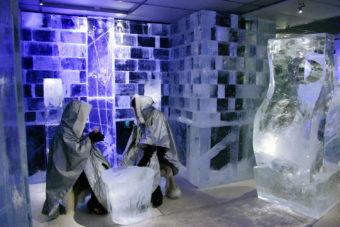 Icebar Tokyo in Japan.