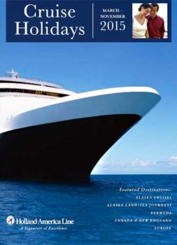 Holland America Cruise Holidays 2015