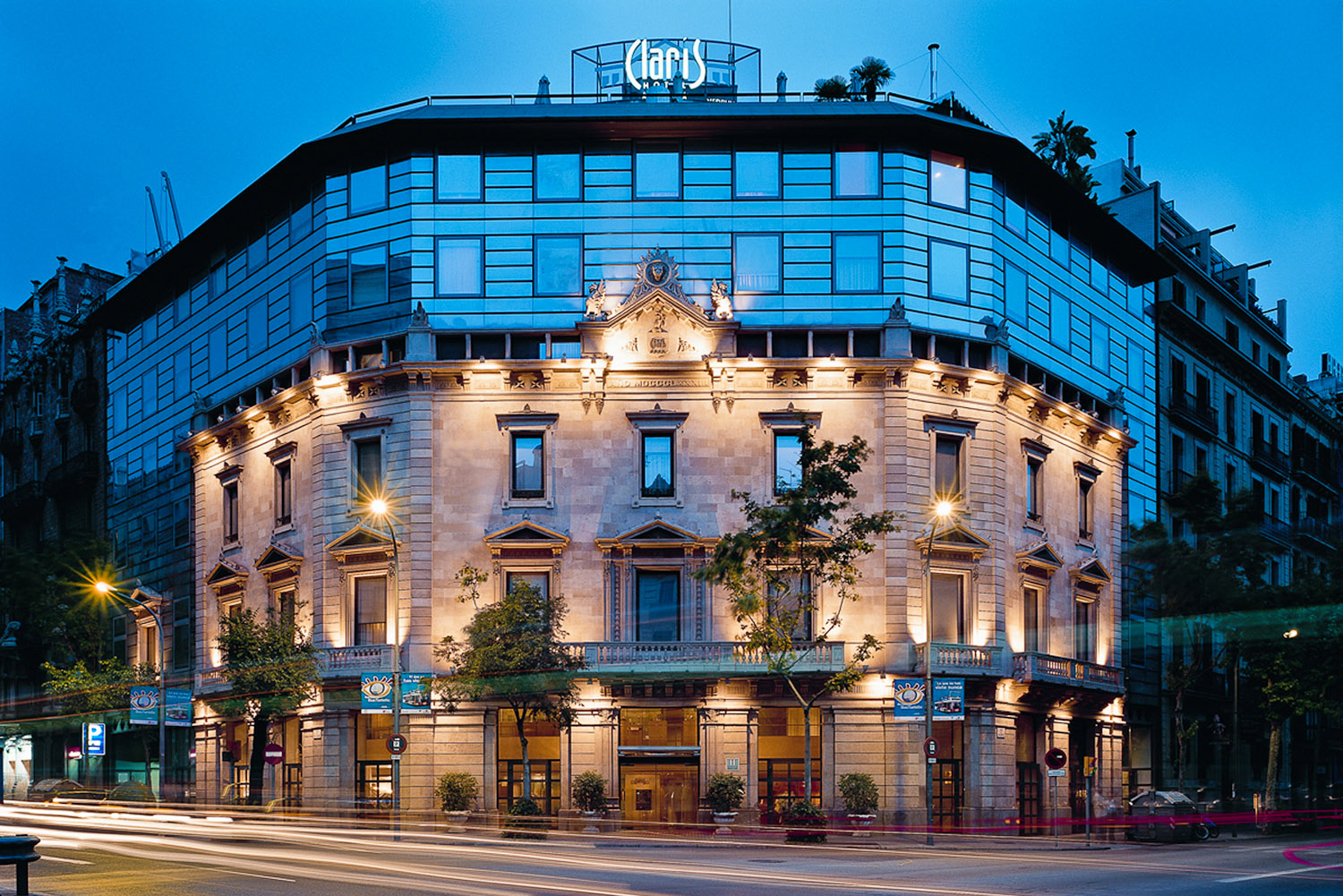 Hotel Claris in Barcelona, Spain.