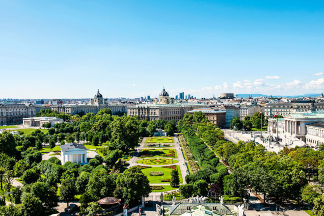 The iconic Ringstrasse in Vienna, Austria.
