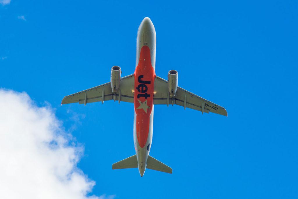 Flying high with Jetstar.