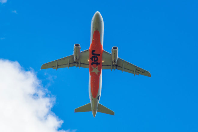 Flying high with Jetstar.