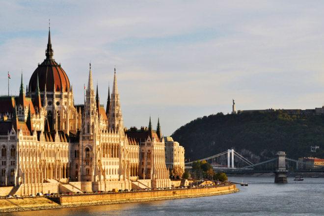 Budapest's parliament building, Hungary.