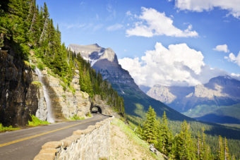 Going to the Sun Road, Montana, USA