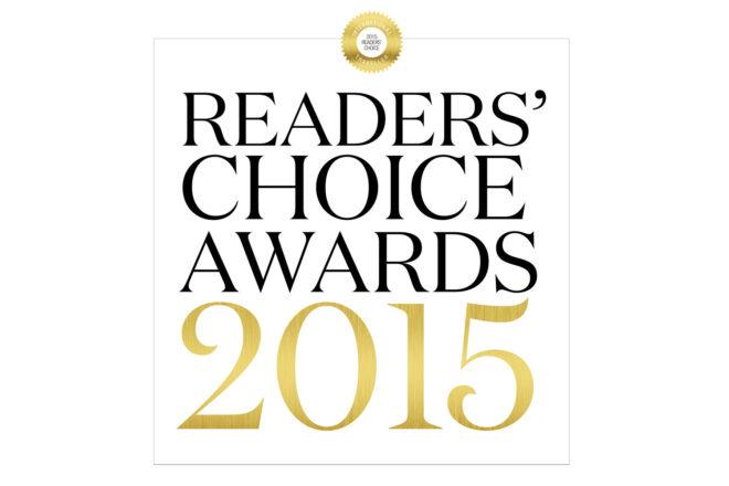 International Traveller's Readers' Choice Awards 2015