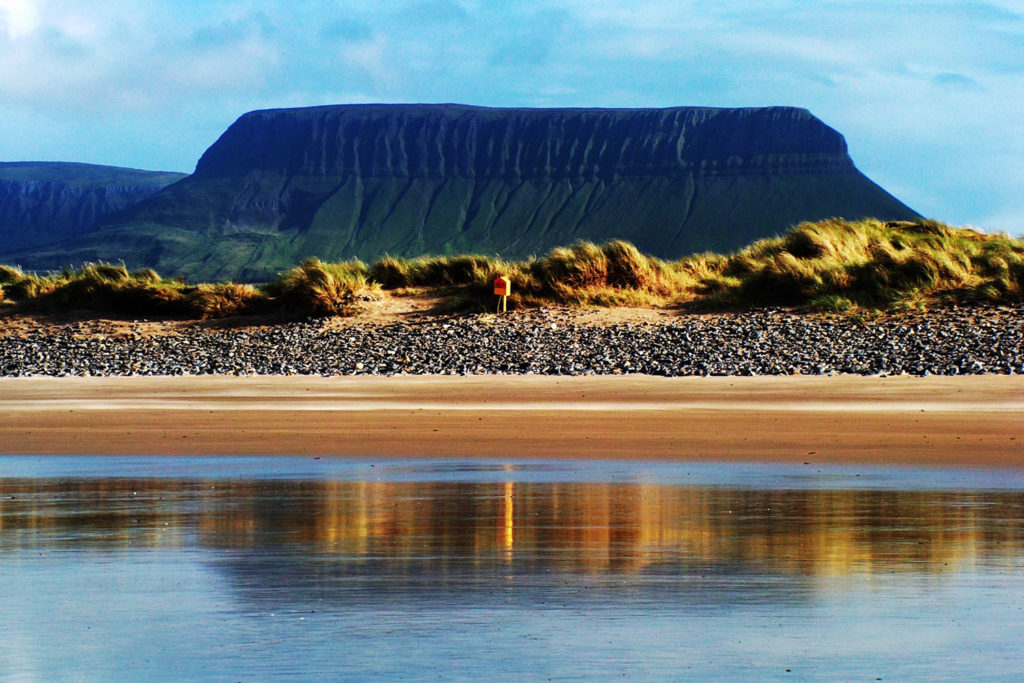 Benbulbin Mountain, Ireland.