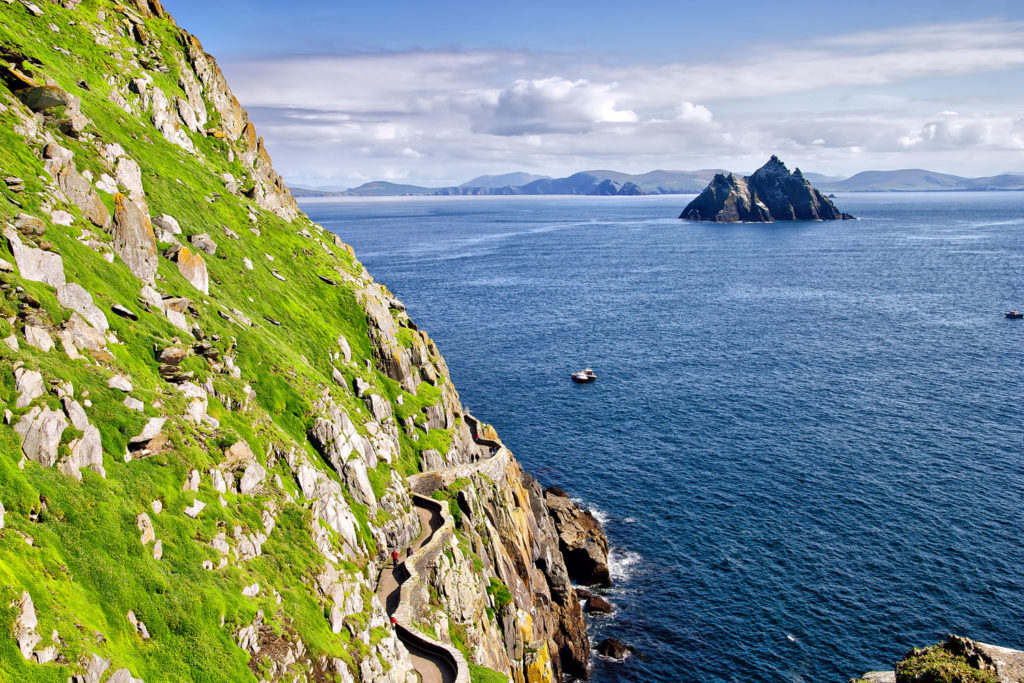 Great Skellig Island, Ireland.