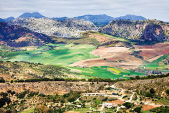 The fertile hills of Andalucía in Spain give way to mountains and their ancient trails.