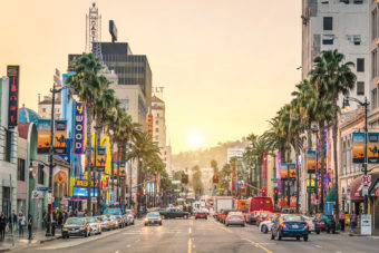 West Hollywood in Los Angeles, USA.