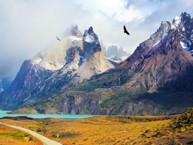 Patagonia's iconic Torres del Paine.
