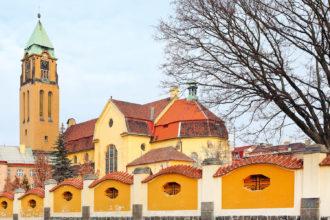 Franciscan Monastery in Pilsen, Czech Republic.