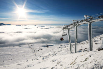 Whistler ski resort in British Columbia, Canada.