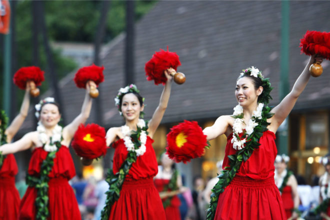 Honolulu Festival in Hawai'i.