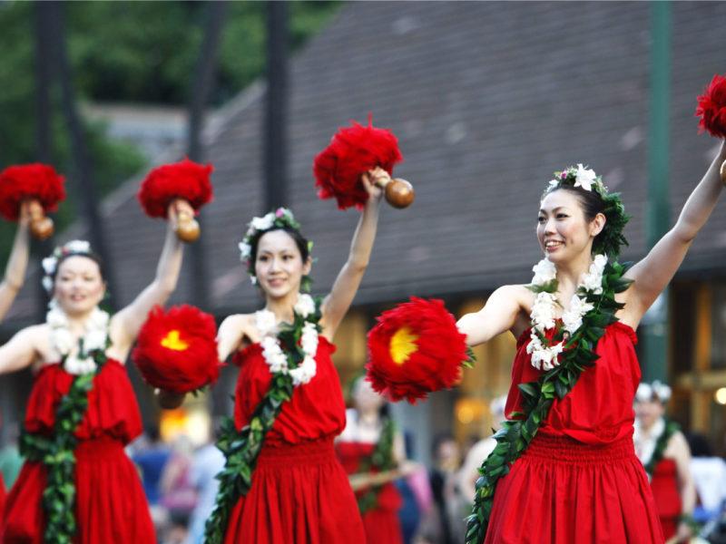 Honolulu Festival in Hawai'i.