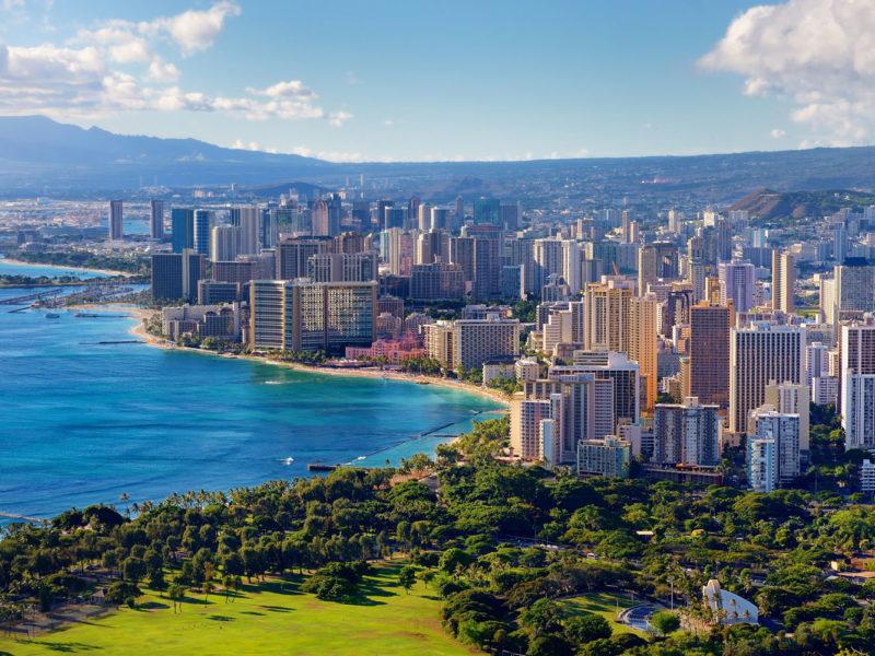 Honolulu city, Oahu, Hawai'i