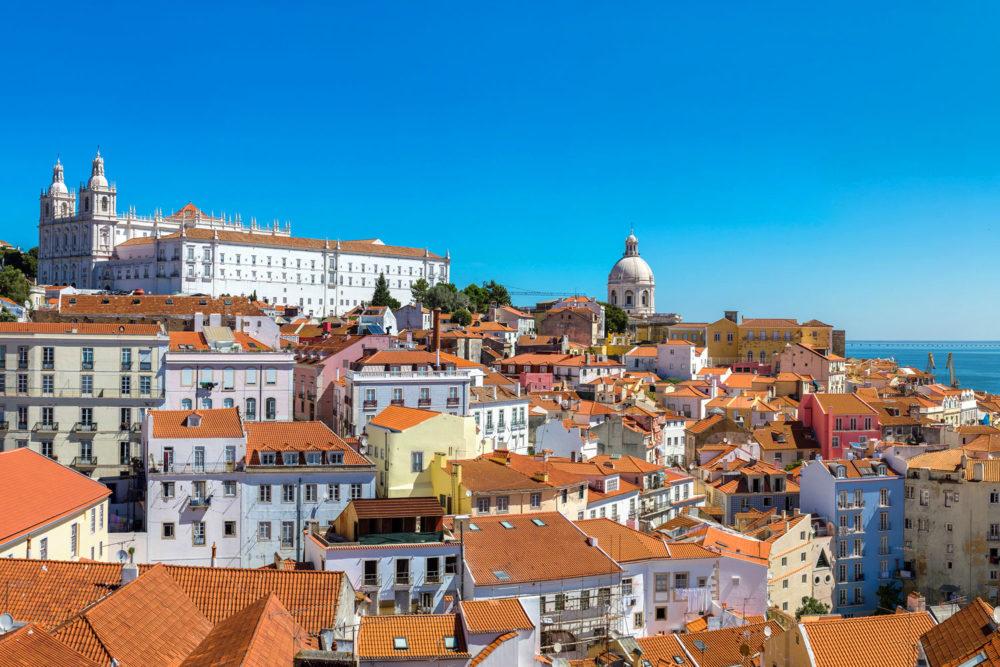 Lisbon in Portugal.