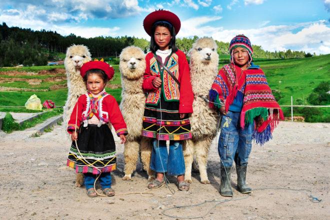 Cusco in Peru.