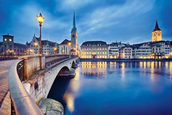 Zurich, Switzerland.