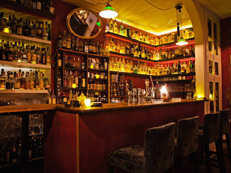 The Jerry Thomas Project bar in Rome, Italy.