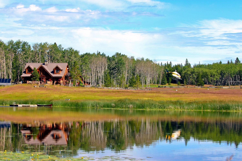 Siwash Lake Ranch in BC, Canada