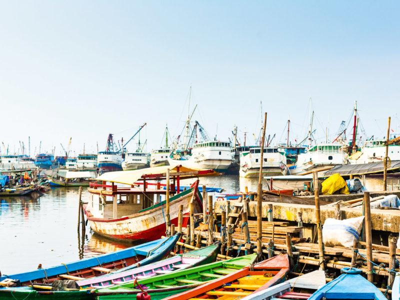 Sunda Kelapa Harbour, Jakarta.