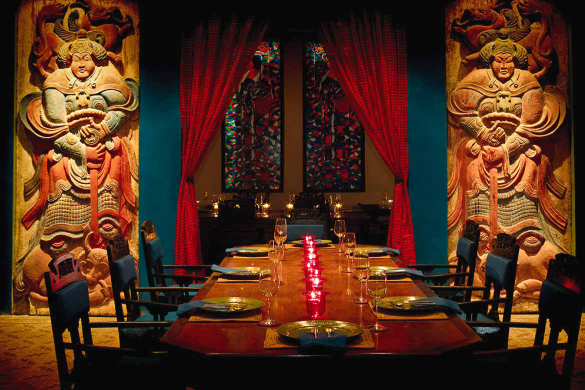 Dining among some of the archipelago's fine art at Lara Djonggrang.