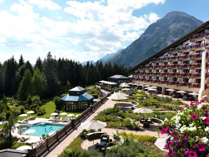 Interalpen-Hotel Tyrol, Austria.
