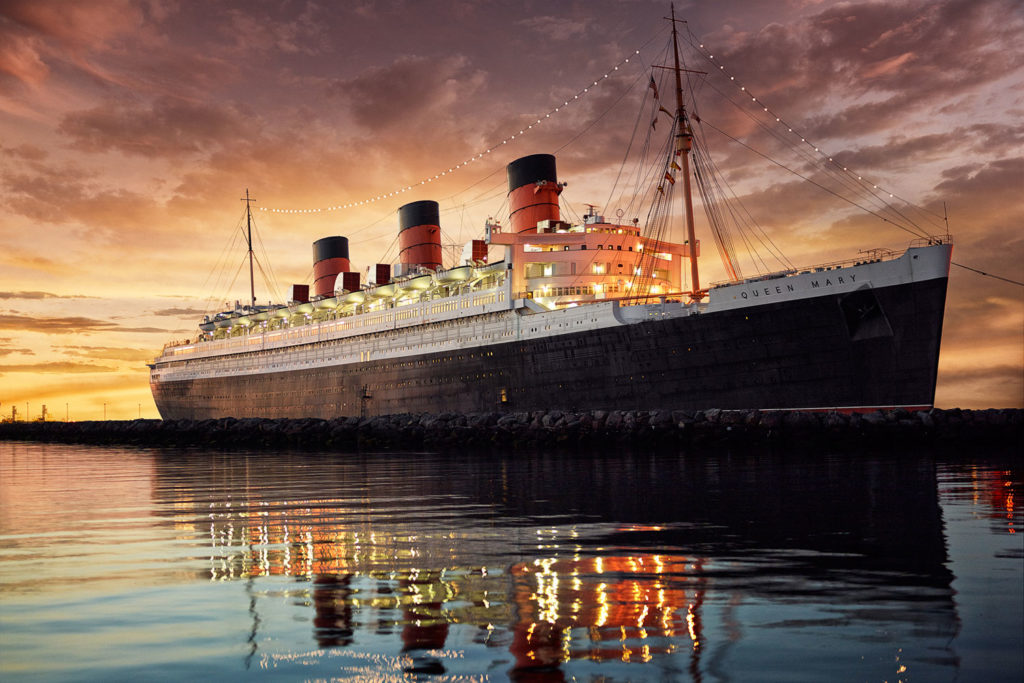 The Queen Mary Hotel in Long Beach, USA