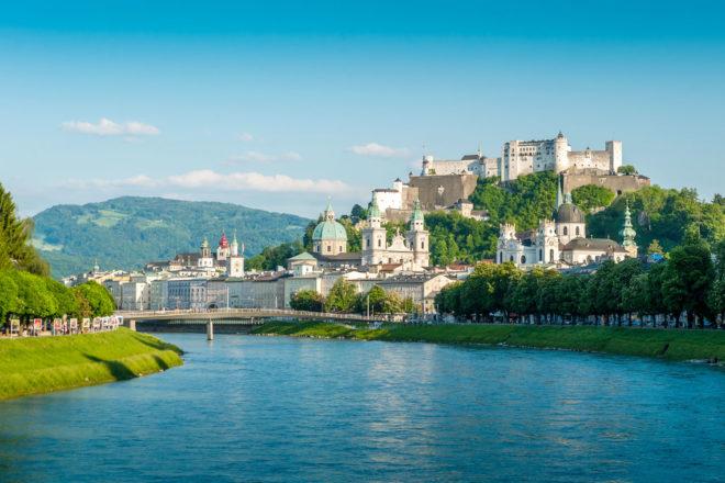 Salzburg in Austria.