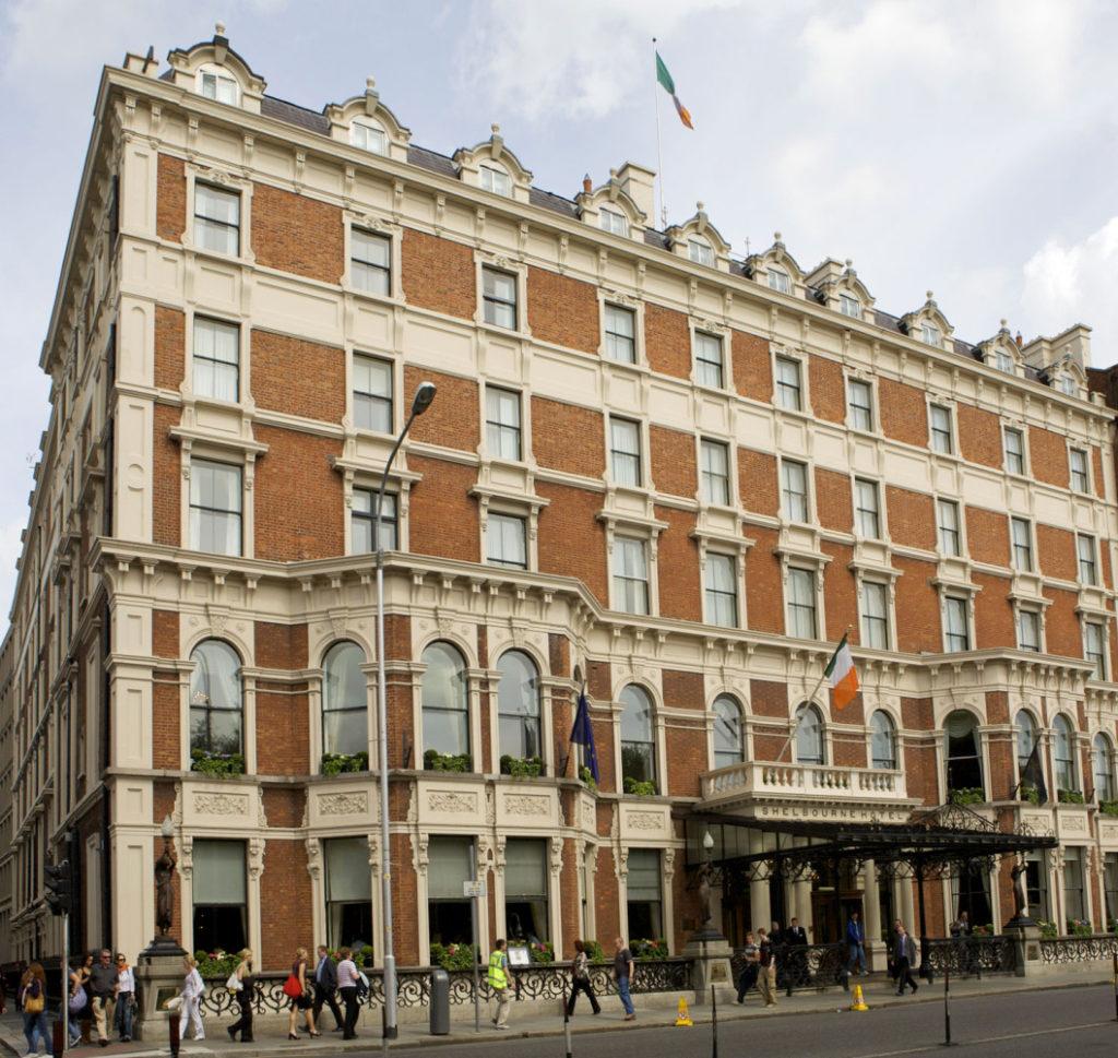 The Shelbourne in Dublin, Ireland