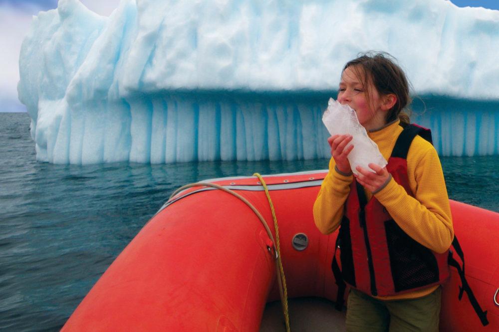 Nature's ice block