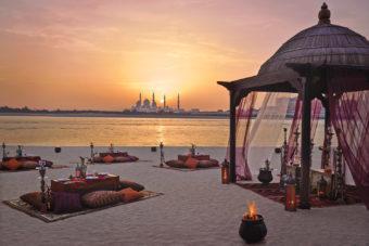 Shangri-La Hotel Qaryat Al Beri in Abu Dhabi.