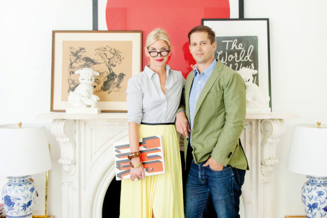 Genifer Sohr and husband Benjamin, behind Nashville's hot design studio, Pencil & Paper Co.