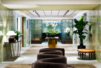 The Pier - Cathay Pacific's flagship First Class lounge.