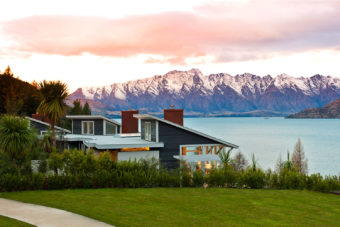 Matakauri Lodge near Queenstown, New Zealand