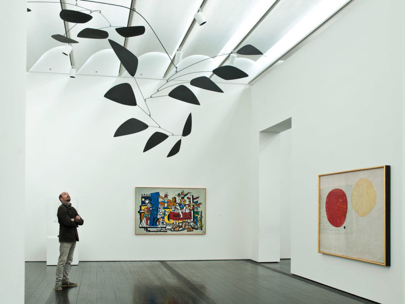 The amazing Menil Collection.